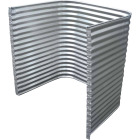 Lux-Right 48 In. x 42 In. Egress Galvanized Window Well Image 2