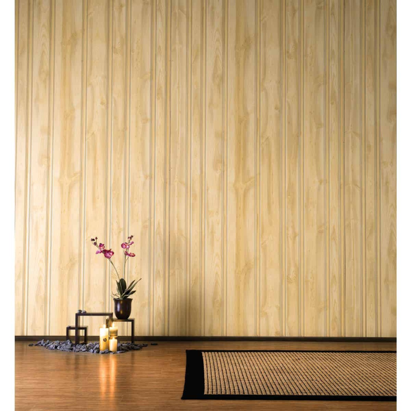 DPI 4 Ft. x 8 Ft. x 3/16 In. Honey Pine Woodgrain Wall Paneling Image 3