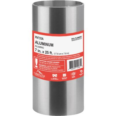 NorWesco 7 In. x 25 Ft. Mill Aluminum Roll Valley Flashing