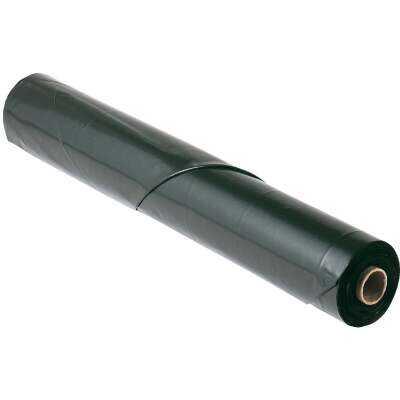 Film-Gard 28 Ft. X 100 Ft. Black 6 Mil. Polyethylene Sheeting