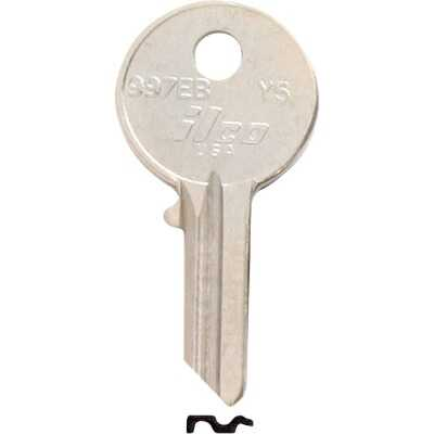 ILCO Yale Nickel Plated House Key, Y5 (10-Pack)
