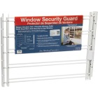 John Sterling Corp Hinged White Enamel 5-Bar Child Safety & Window Security Guard Image 3