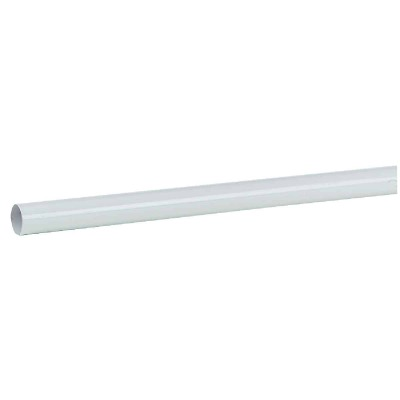 John Sterling Closet-Pro 4 Ft. x 1-1/4 In. Extra Heavy-Duty Cut-to-Length Closet Rod, White