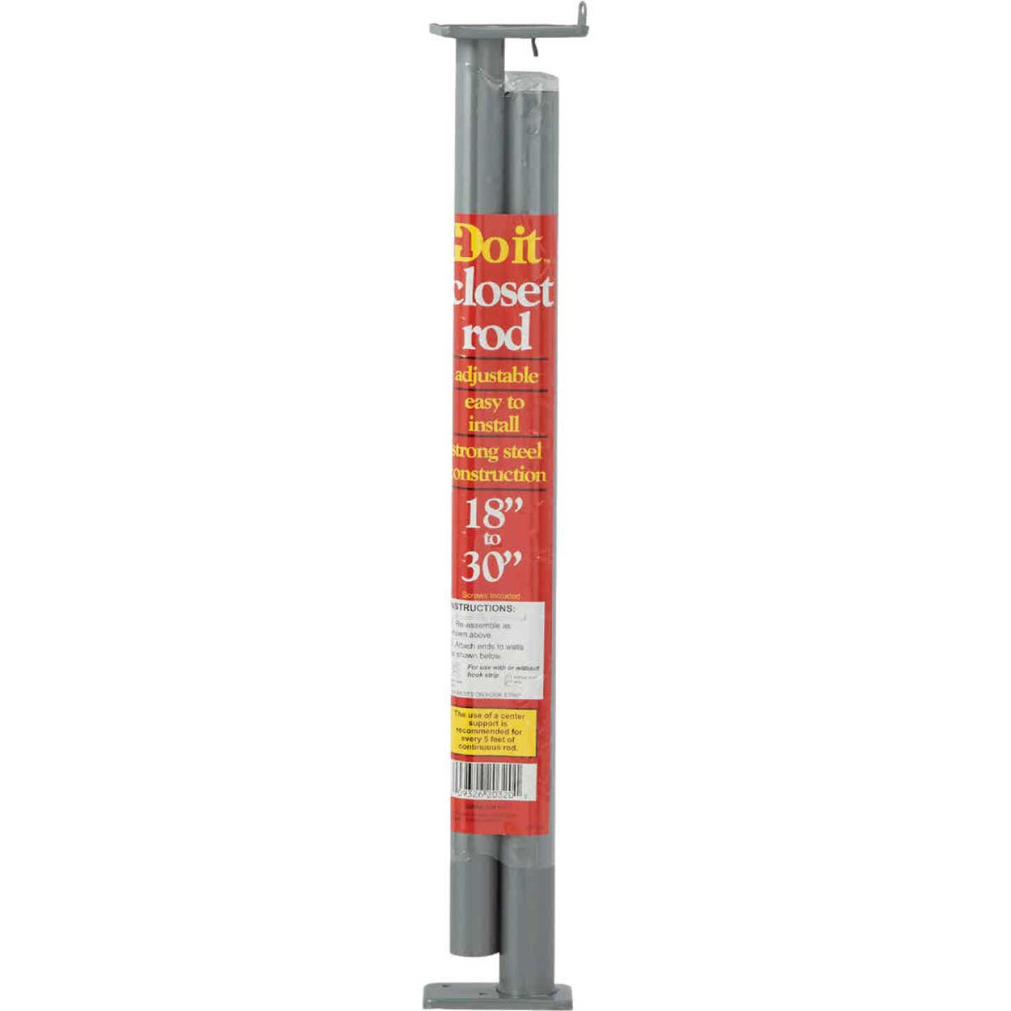 Do it 18 In. to 30 In. Adjustable Closet Rod, Lustra Image 2