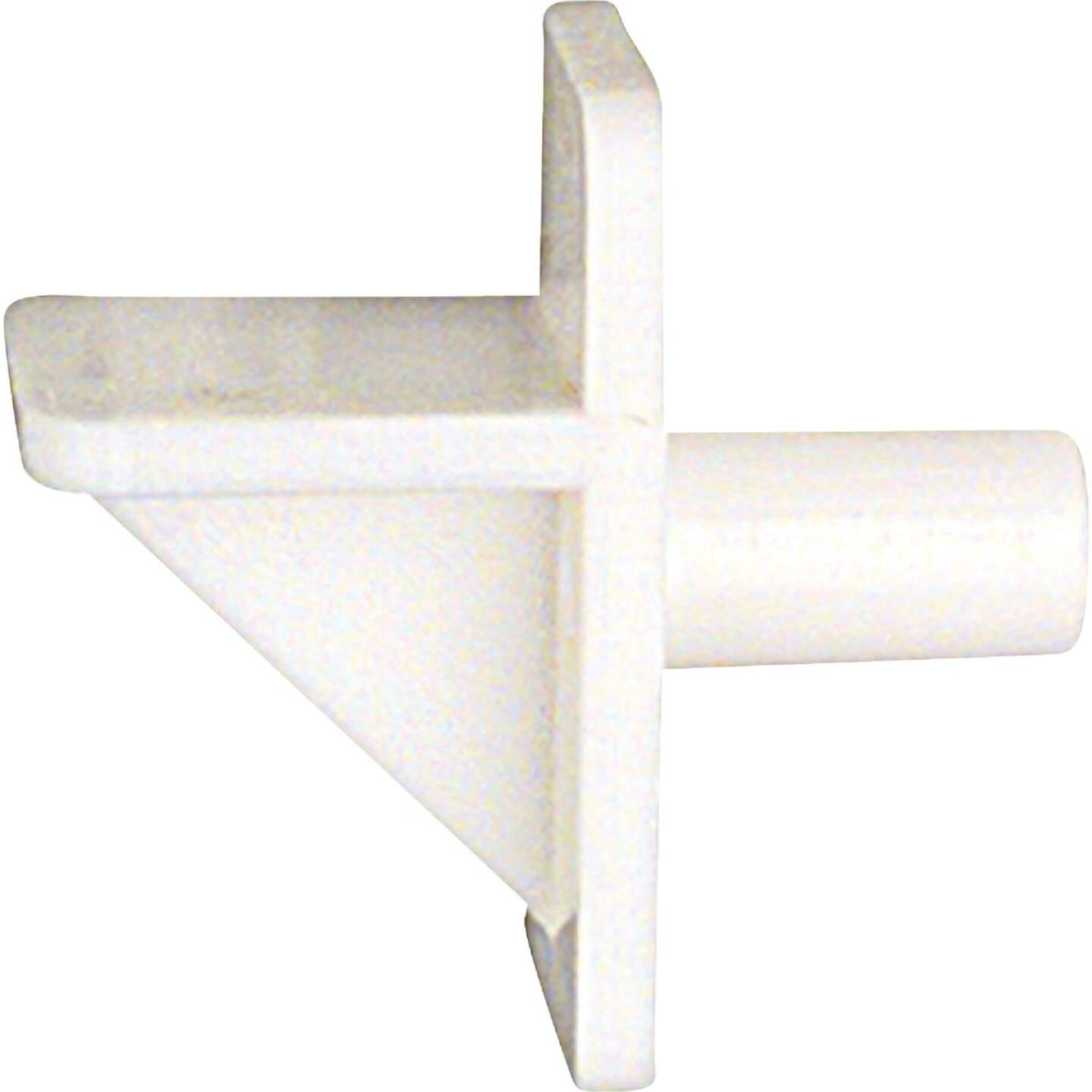 National 159 1/4 In. White Plastic Shelf Support Image 1