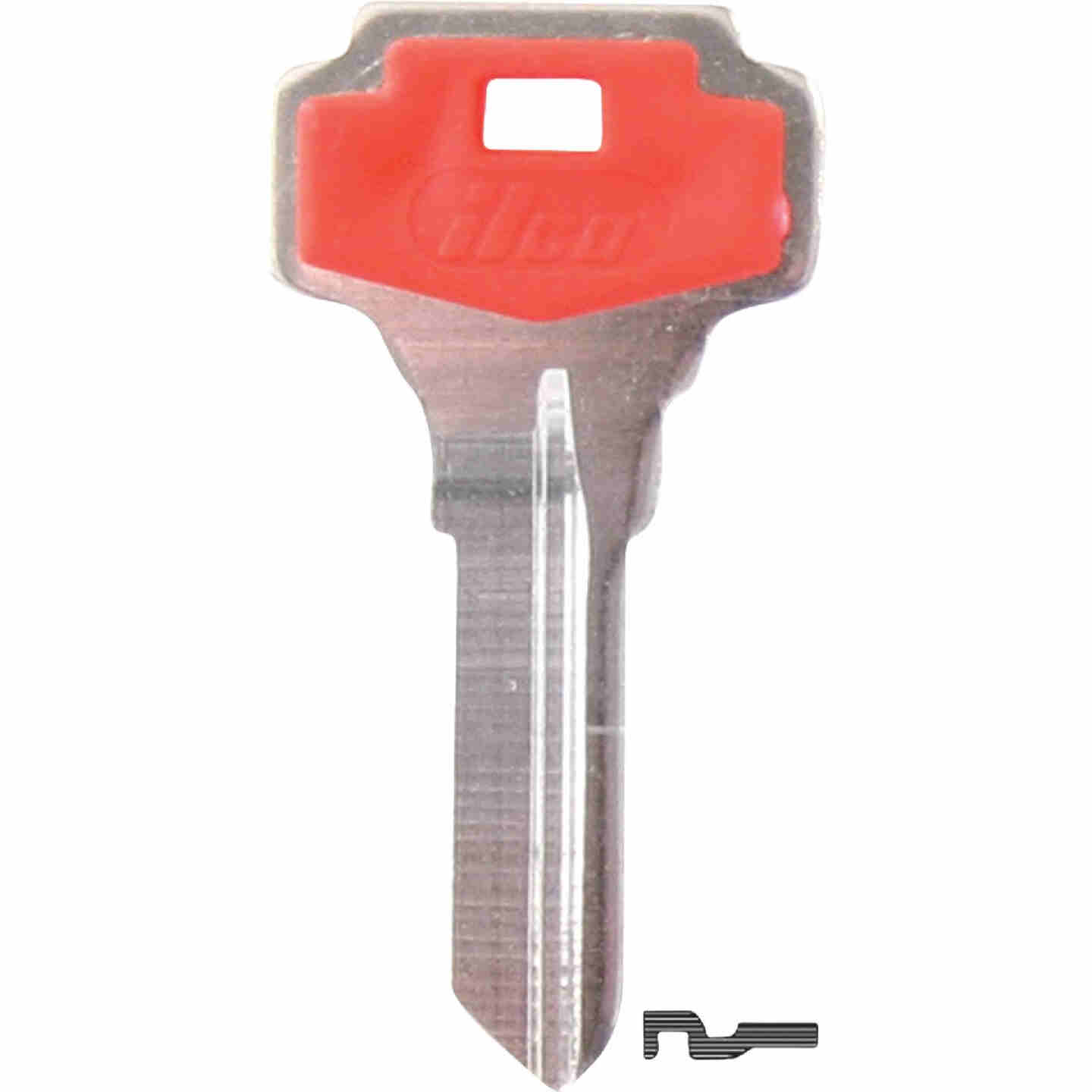 ILCO Dexter Design Decorative House Key, DE6P (5-Pack) Image 1