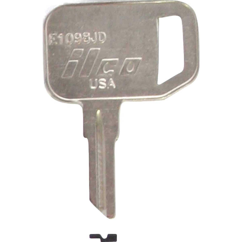 ILCO John Deere Nickel Plated Tractor Key, (10-Pack) Image 1