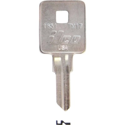 ILCO Trimark Nickel Plated Toolbox Key, TM17 (10-Pack)