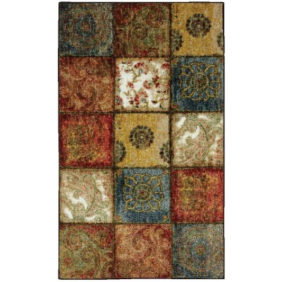 Mohawk Home Artifact Multi-Panel 1 Ft. 8 In. x 2 Ft. 10 In. Accent Rug