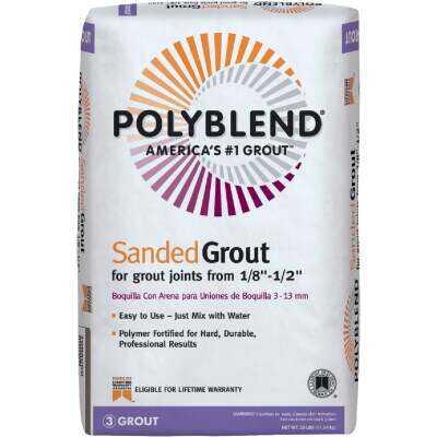 Custom Building Products Polyblend 25 Lb. Linen Sanded Tile Grout