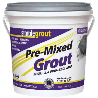 Custom Building Products Simplegrout Gallon Linen Pre-Mixed Tile Grout