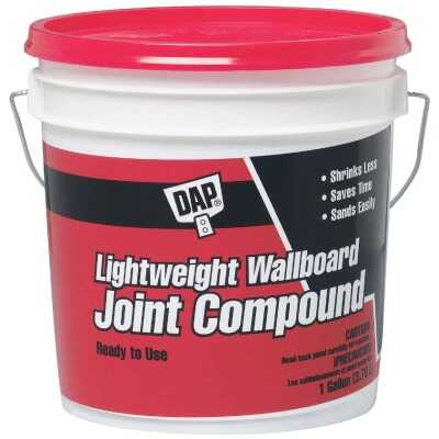 Dap Gallon Pre-Mixed Lightweight Wallboard Drywall Joint Compound