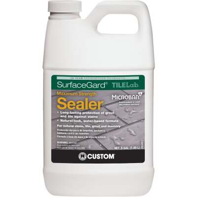 Custom Building Products TILELab Surfacegard 1/2 Gal. Grout & Tile Sealer