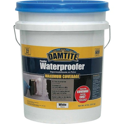 Damtite 45 Lb. White Powder Masonry Waterproofer