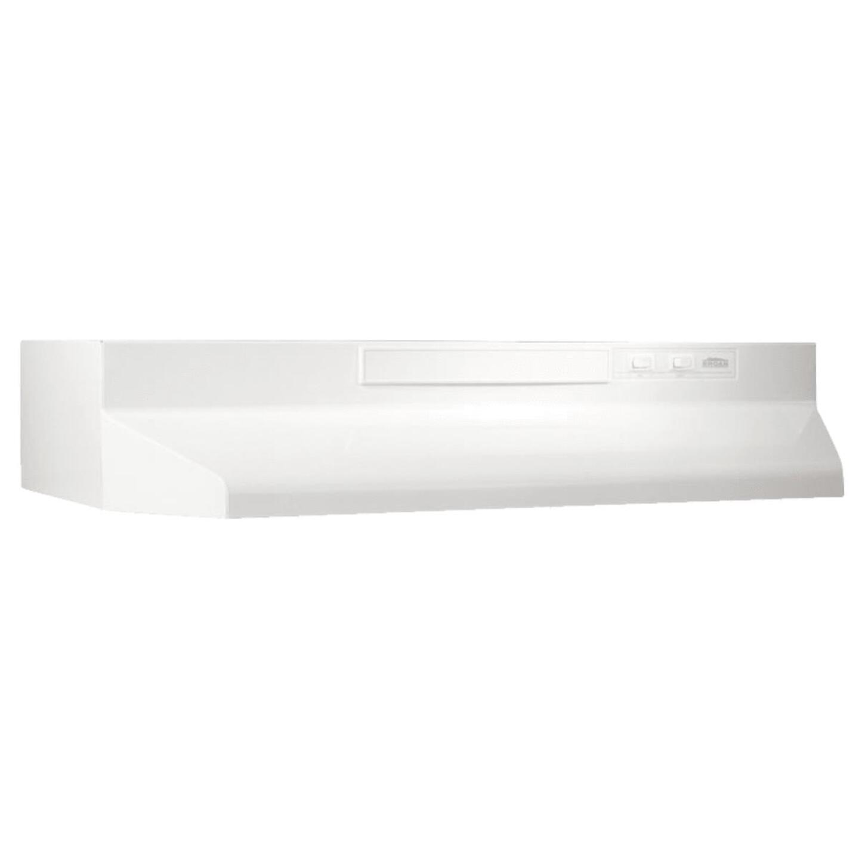 Broan-Nutone F Series 36 In. Convertible White Range Hood Image 1