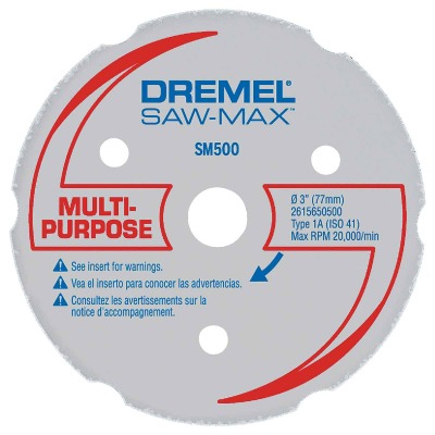 Dremel Saw-Max 3 In. Wood/Plastic Cut-Off Wheel