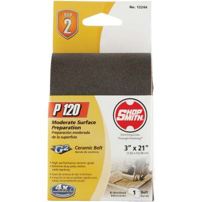Gator Blade 3 In. x 21 In. 120 Grit Heavy-Duty Sanding Belt
