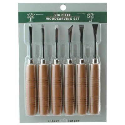 Robert Larson 6-Piece Carving Tool Set