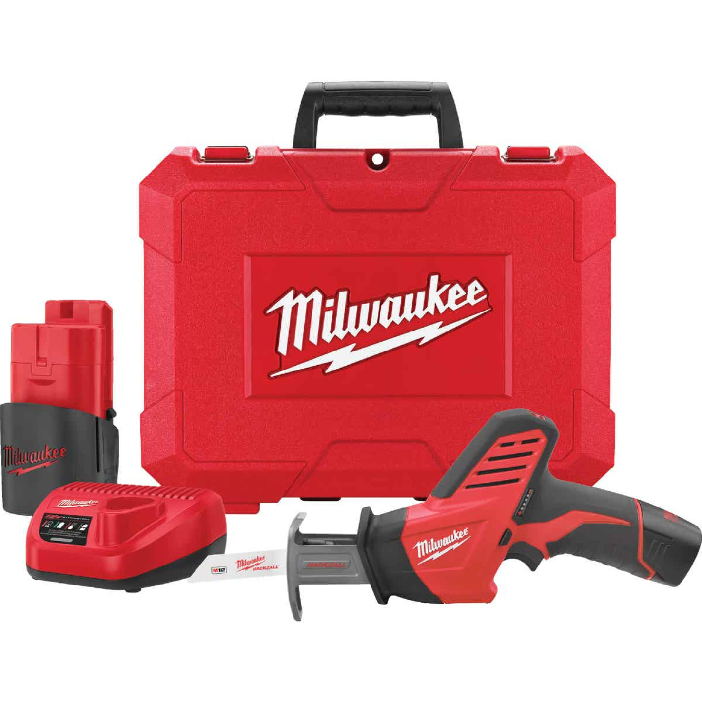 Milwaukee Hackzall M12 12 Volt Lithium-Ion Cordless Reciprocating Saw Kit Image 6