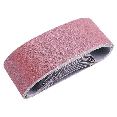 Do it Best 3 In. x 21 In. 80 Grit Dual Direction Sanding Belt (5-Pack)