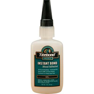 Titebond 2 Oz. Instant Bond Gel Viscosity CA Wood Glue