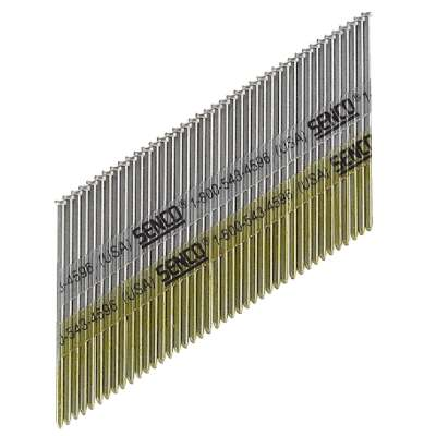 Senco 15-Gauge Galvanized 34 Degree Angled Finish Nail, 2 In. (700 Ct.)