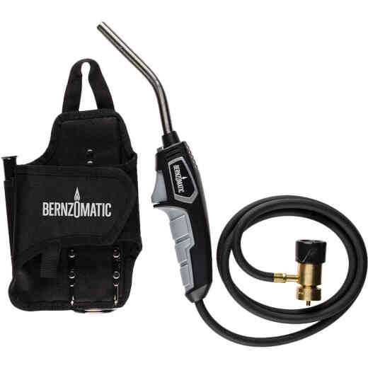 Bernzomatic Trigger Start Hose Torch Head for Accessibility and Mobility