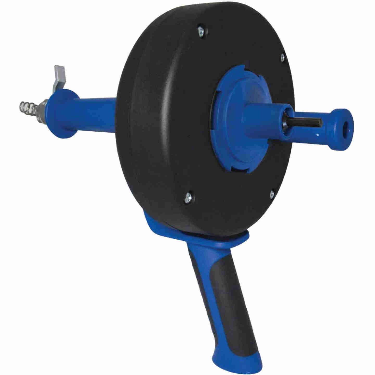 Do it Best 1/4 In. x 25 Ft. Polymer Drum Drain Auger Image 1