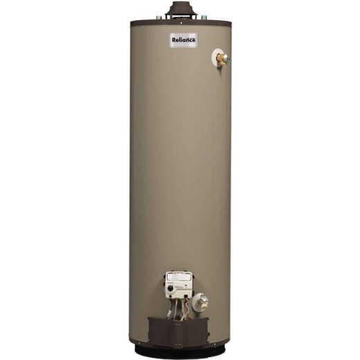 Reliance 50 Gal. Tall 9yr 37,000 BTU Self-Cleaning Liquid Propane (LP) Gas Water Heater