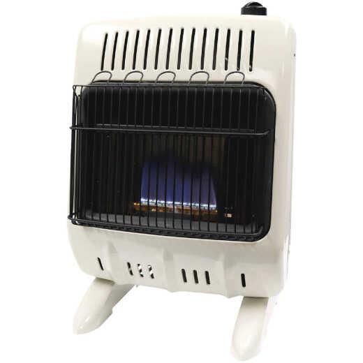Mr. Heater 10K BTU Blue Flame Dual Fuel Vent Free Wall Heater with Piezo Start