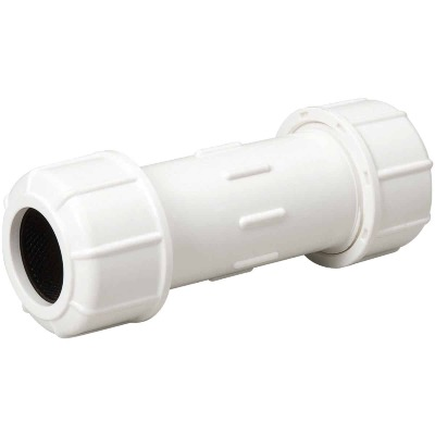 B & K 1-1/4 In. X 6 In. Compression PVC Coupling