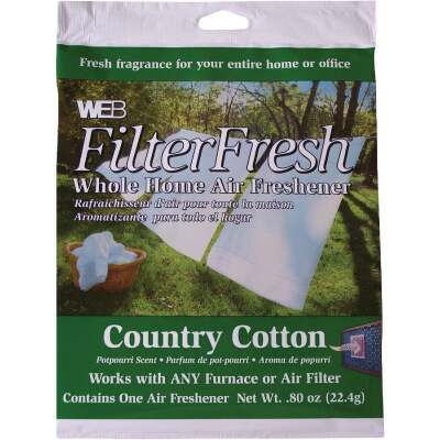 Web FilterFresh Furnace Air Freshener, Country Cotton
