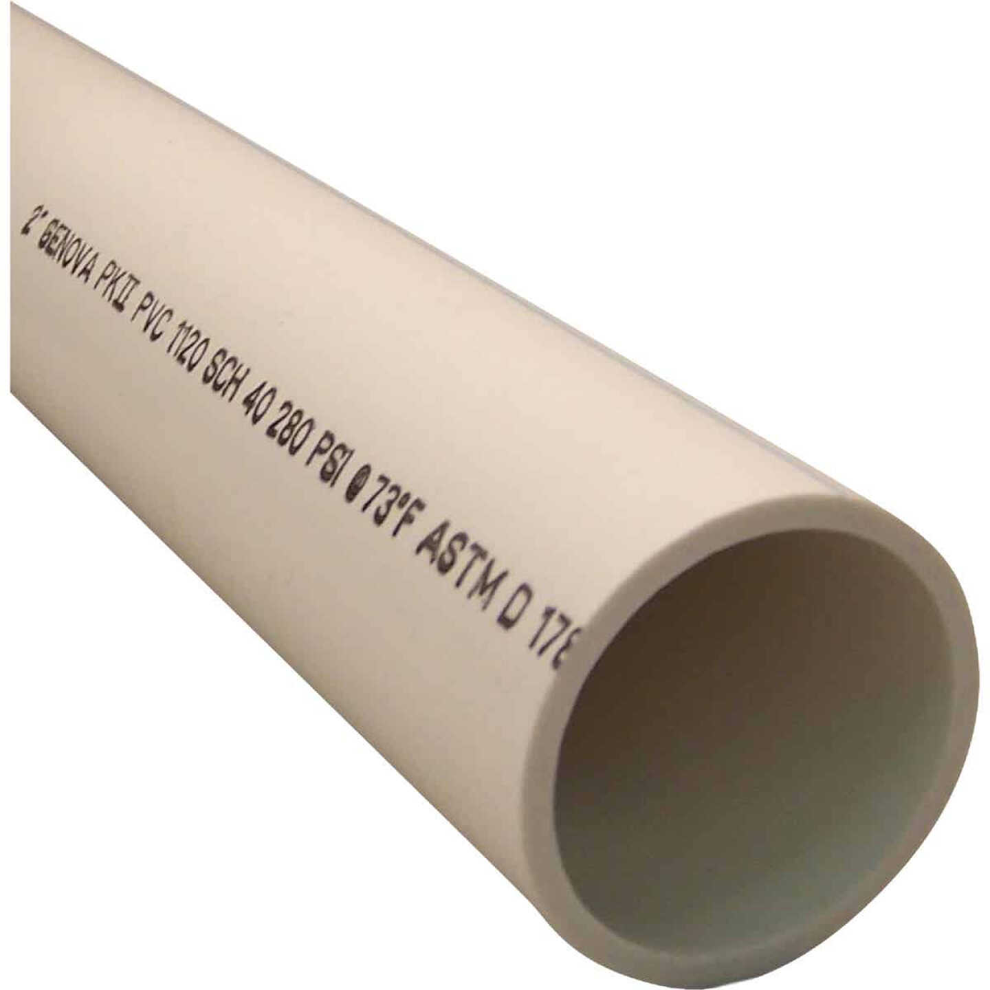 Charlotte Pipe 2 In. x 2 Ft. PVC-DWV Cellular Core Schedule 40 Pipe Image 1