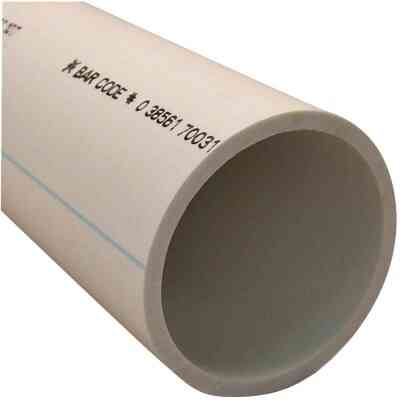 Charlotte Pipe 3 In. x 2 Ft. PVC-DWV Cellular Core Schedule 40 Pipe