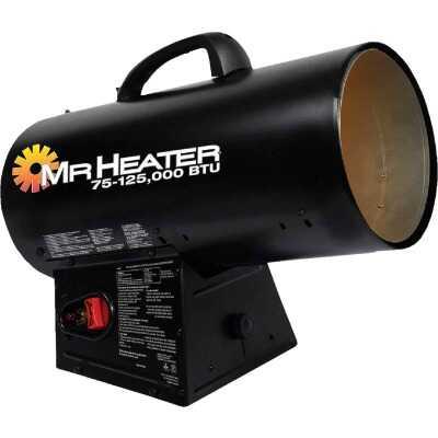 MR. HEATER 75-125,000 BTU Propane QBT Forced Air Heater