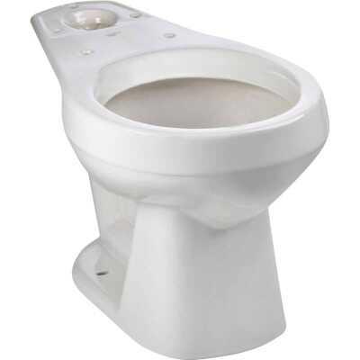 Mansfield Alto White Round 14-3/4 In. Toilet Bowl