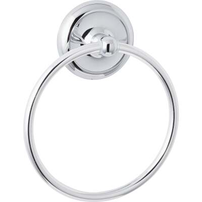 Home Impressions Polished Chrome Towel Ring