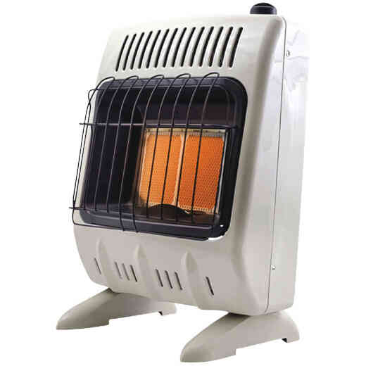 Mr. Heater Vent Free Propane (LP) Radiant Wall Heater with Piezo Start
