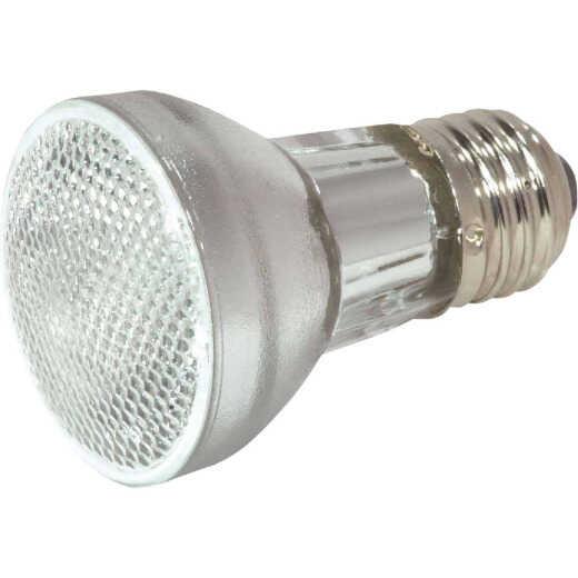 Satco 75W Equivalent Clear Medium Base PAR16 Halogen Floodlight Light Bulb