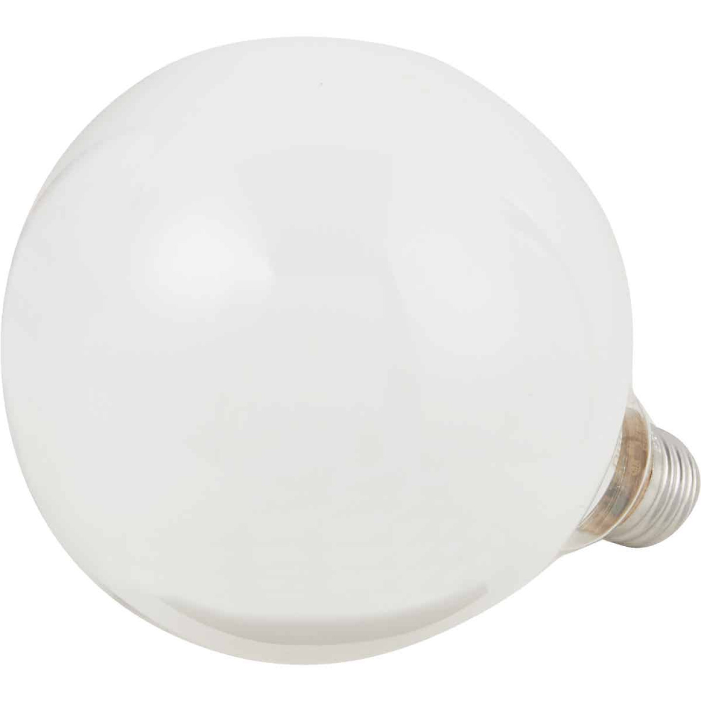 Philips DuraMax 60W Frosted Soft White Medium Base G40 Incandescent Globe Light Bulb Image 3