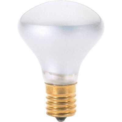 Satco 40W Clear Intermediate Base R14 Reflector Incandescent Floodlight Light Bulb