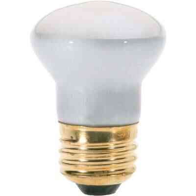 Satco 40W Clear Medium Base R14 Reflector Incandescent Floodlight Light Bulb