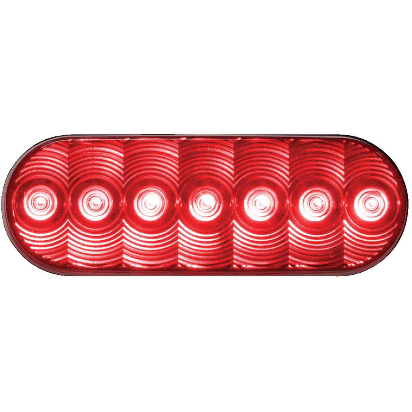 Peterson LumenX Oval 9-16 V. Red Stop & Tail Light Image 1