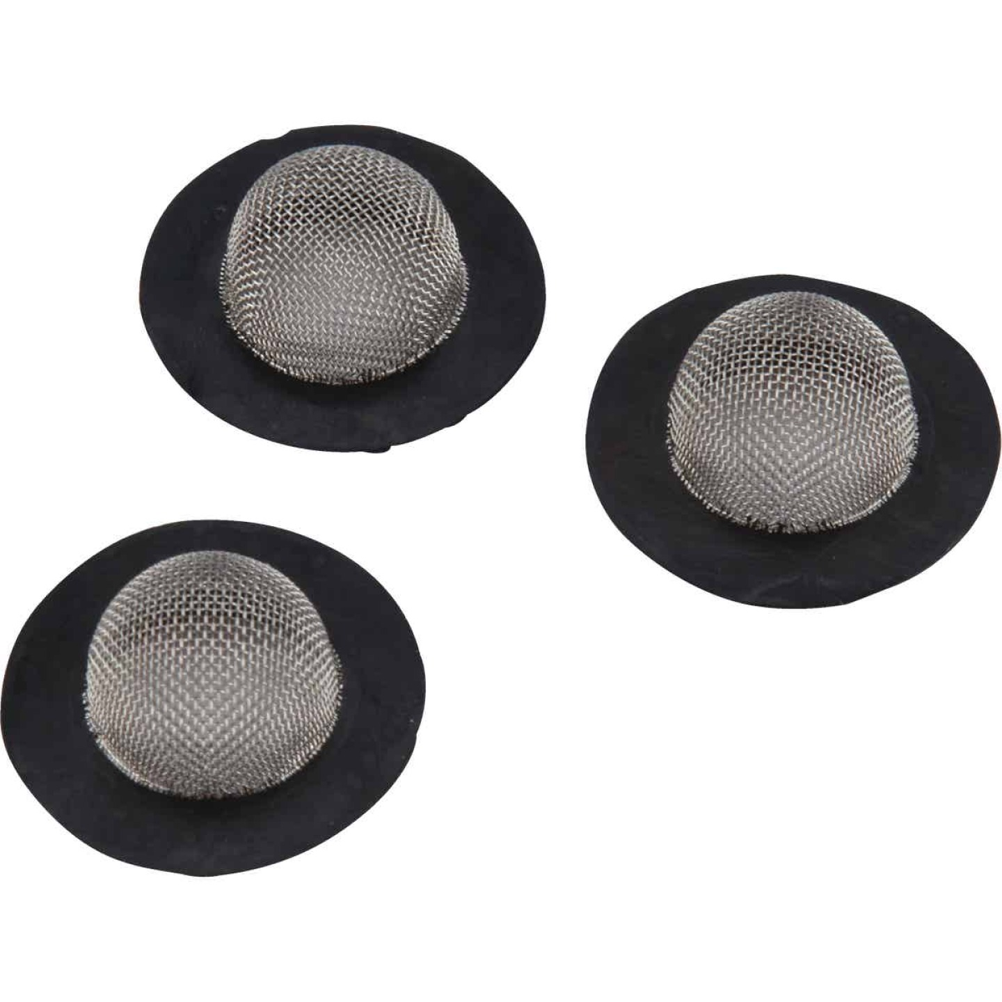 Camco Stainless Steel Mesh 1 In. RV Washer with Filter, (3-Pack) Image 1