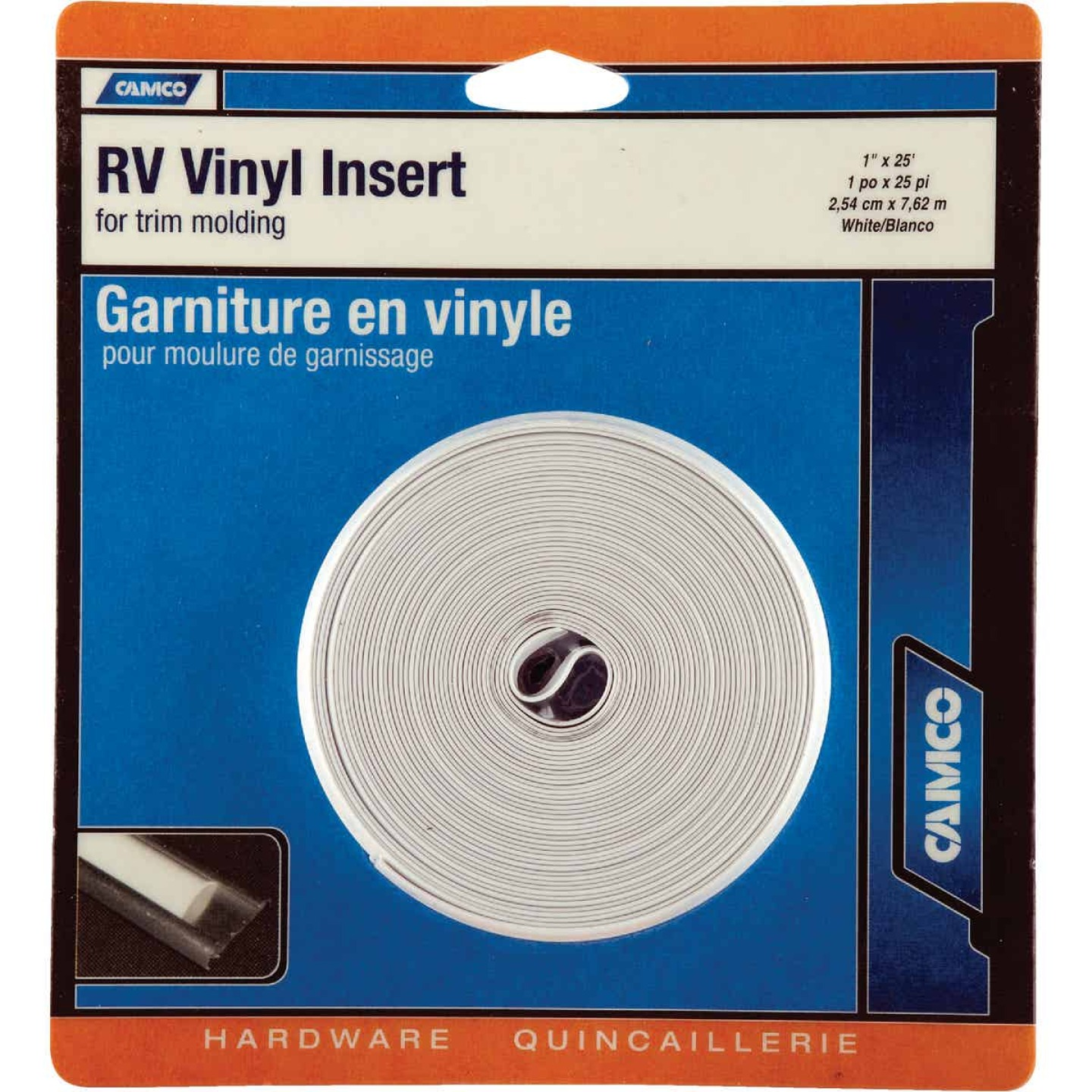 Camco 1 In. 25 Ft. UV Inhibitor RV Vinyl Trim Image 2