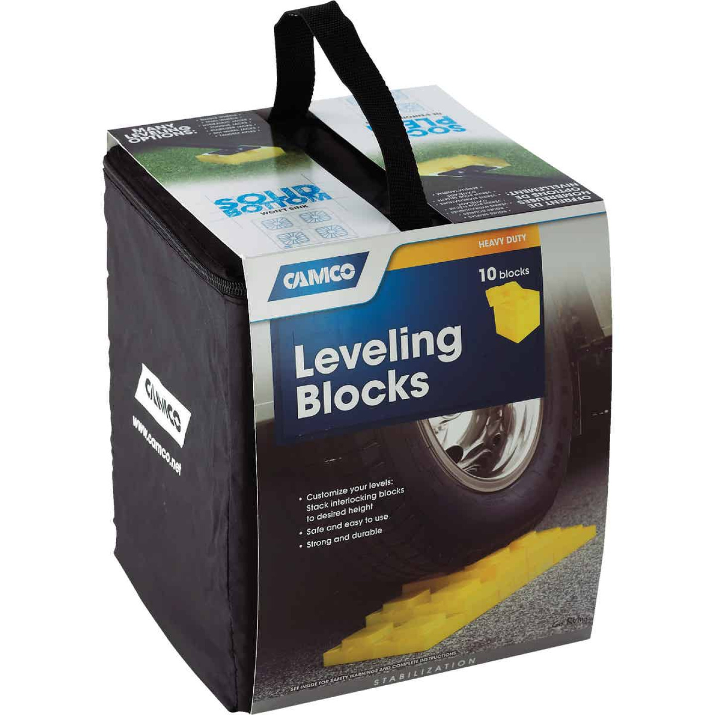 Camco RV Leveler Blocks, (10-Pack) Image 2
