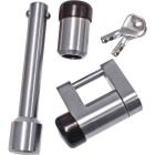 Reese Towpower Chrome-Plated 5/8 In. Dia. Professional Receiver/Coupler Lock Set Image 1