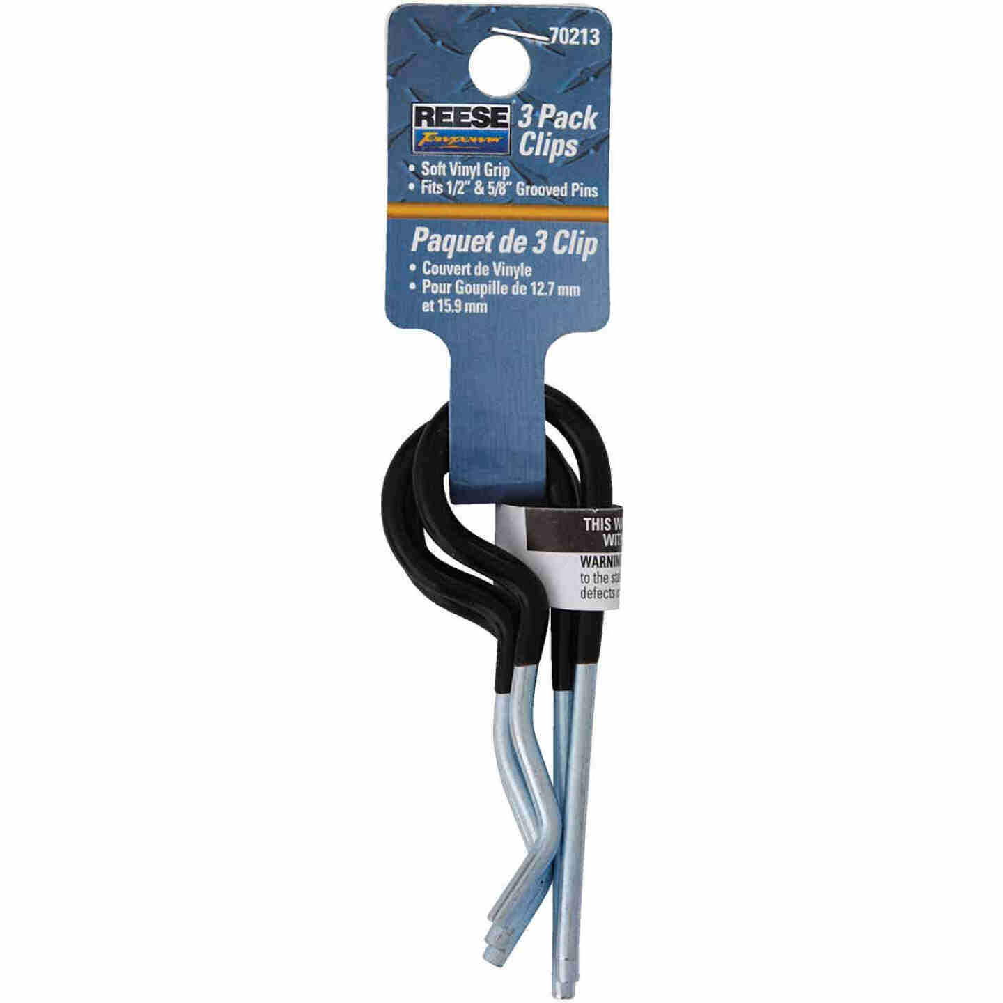 Reese Towpower 2/5 In. x 5-4/5 In. Cadmium Plated Steel Hitch Pin Clip Image 2