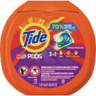 Tide Pods 3-In-1 Liquid Laundry Detergent (72-Count) Image 1