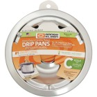 "Range Kleen Electric 6"" Style C Round Chrome Drip Pan Image 1"